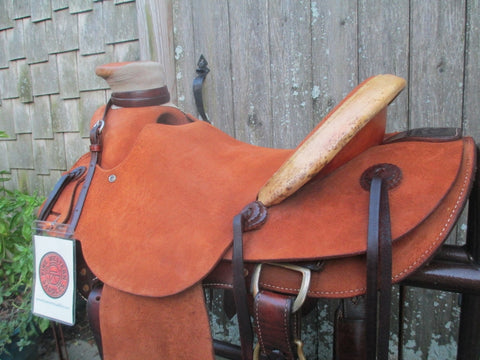 McCall 98 Wade Roping Ranch Saddle