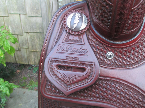 Ruelas Cutting Saddle