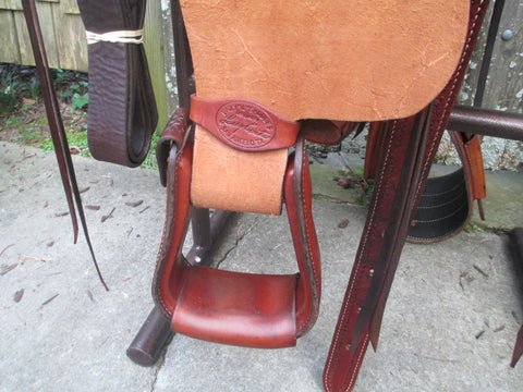 Lazy L Roping Saddle By Larry Coats