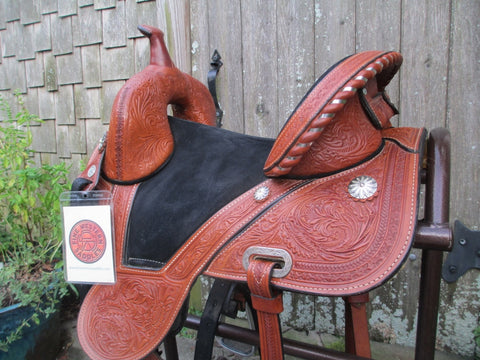 Circle Y Tammy Fischer Daisy Barrel Saddle (Sale Pending)