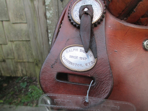 Ralph Shimon Roping Saddle