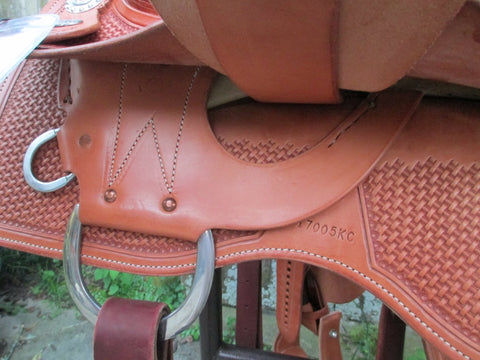 Scottsdale Performance Saddles Cowhorse Saddle By Andy Maschke (New)