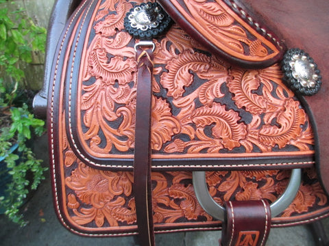 Ramiro Ruelas Cutting Saddle (New)