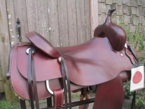 Tim Piland Cutting Saddle