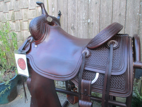 Elite Custom Saddles Cutting Saddle
