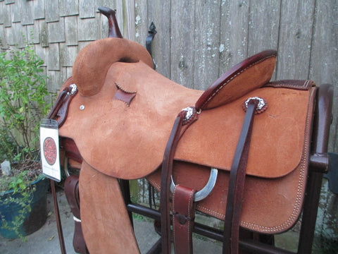 Trent Ward Cutting Saddle
