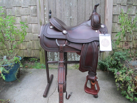 Cajun's Cutting Saddle