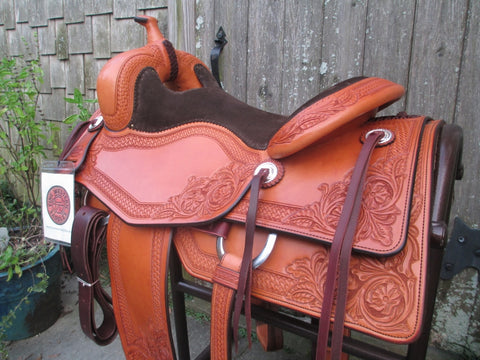Bob's Cowhorse Ranch Versatility Saddle (New)