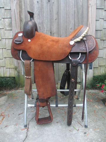 Allen Ranch Roping Saddle