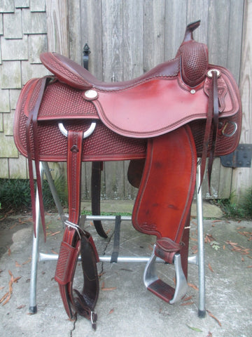 Sean Ryon Reining Saddle