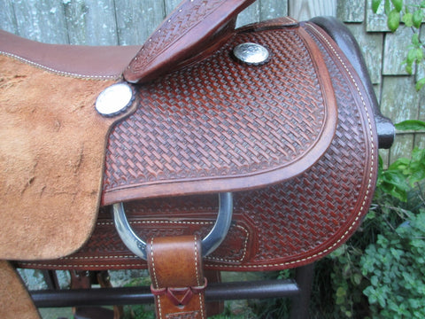 Billy Cook Cutting Saddle