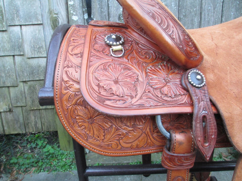 Keith Valley Roping Saddle