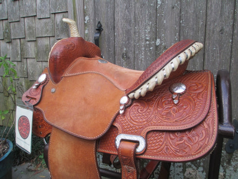 Billy Cook Barrel Saddle (Sale Pending)