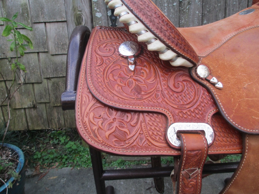 Billy Cook Barrel Saddle (Sale Pending) - Fine Western Saddles