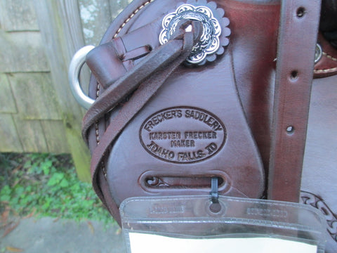 Frecker's Saddlery Lightweight Wade Roping Saddle