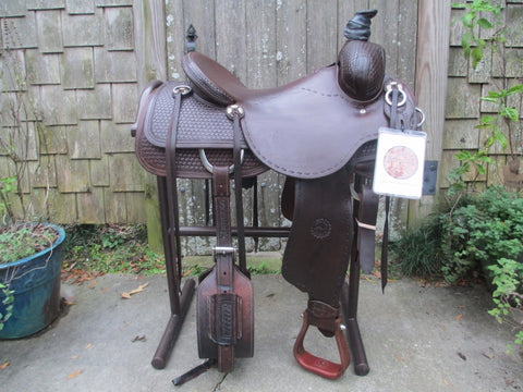 Jeff Smith Custom Made Ranch Saddle