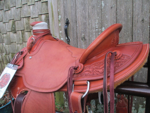 New McCall Lady Wade Roping Saddle Ranch Saddle