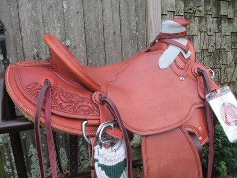 New McCall Lady Wade Ranch, Roping Saddle Ranch Saddle