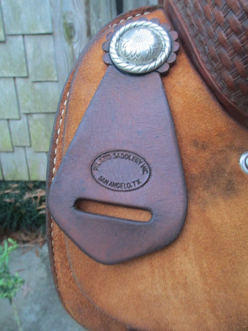 John Piland Cutting Saddle
