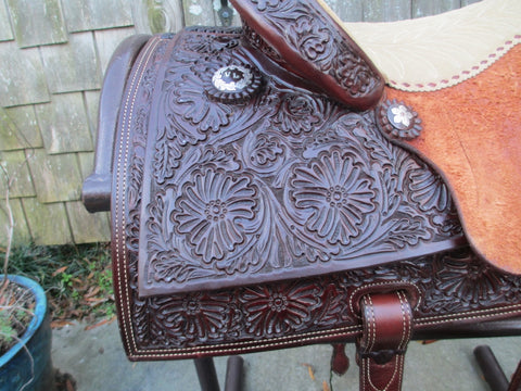 D. W. (David) Barnes Barrel Saddle