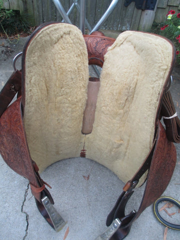 Bob's Fully Tooled Show Saddle