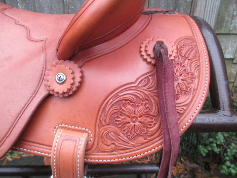New McCall McLite Wade Ranch, Roping Saddle
