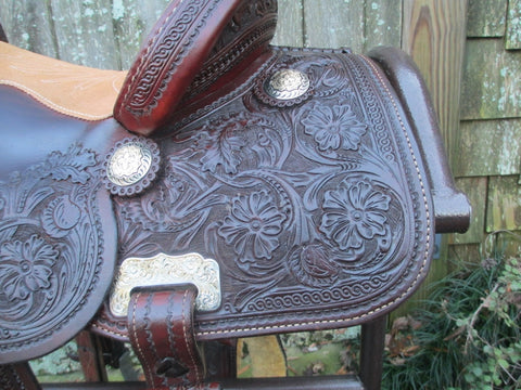 J & S Barrel Saddle