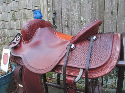 Craig Lewis Ranch Saddle