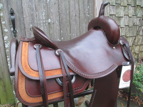 Roohide Cutting Saddle