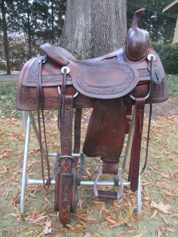 Jim McNulty Cutting Saddle