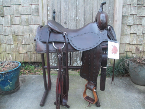Sean Ryon Cutting Saddle