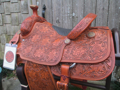 New Cactus Team Roping Saddle