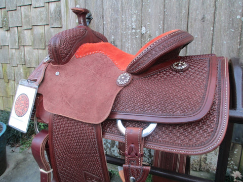 New Jeff Smith Roping Saddle