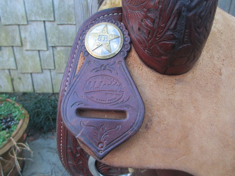 M L Leddy Cutting Saddle