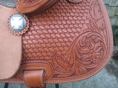 Jeff Smith Cowboy Collection Barrel Saddle (NEW)