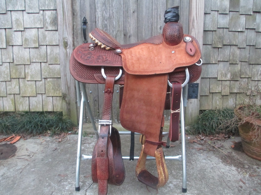 Martin Saddlery Team Roper Roping Saddle - Fine Western Saddles
