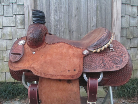 Martin Saddlery Team Roper Roping Saddle
