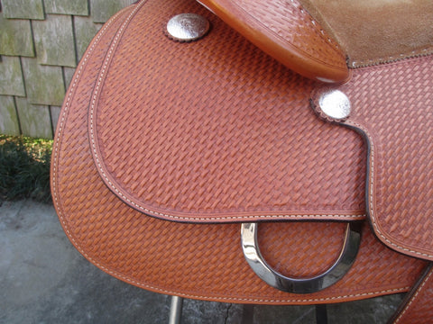Blue Ribbon Training Saddle Work Saddle