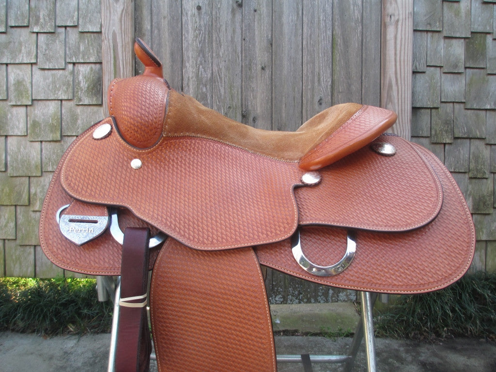 Blue Ribbon Training Saddle Work Saddle - Fine Western Saddles