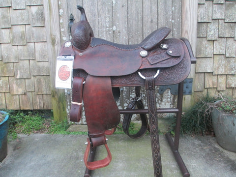 M L Leddy Cutting Saddle Built By Paul Garcia