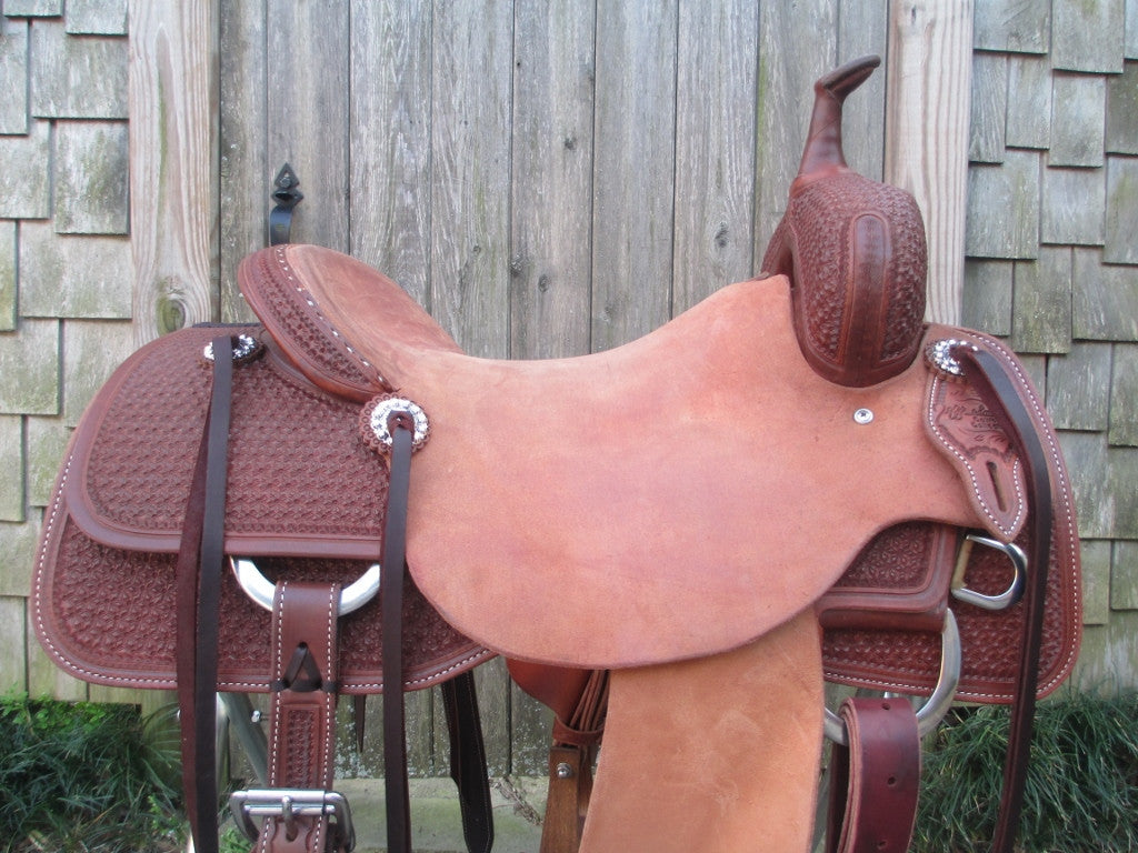Jeff Smith Cowboy Collection Cutting Saddle (NEW) - Fine
