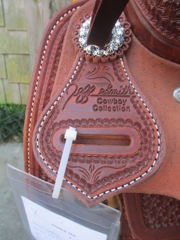 Jeff Smith Cowboy Collection Cutting Saddle (NEW)
