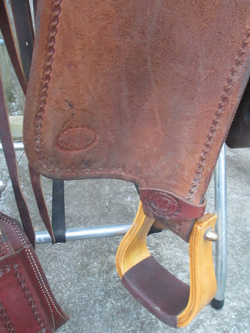 National Roper's Supply (NRS) Pro Series Ranch Roper Roping Saddle