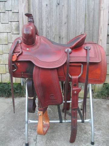 J & S Ranch Cutter Saddle