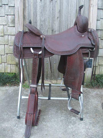 Jeff Smith Cowboy Collection Cutting Saddle