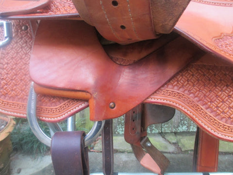 Martin Saddlery Reining Saddle