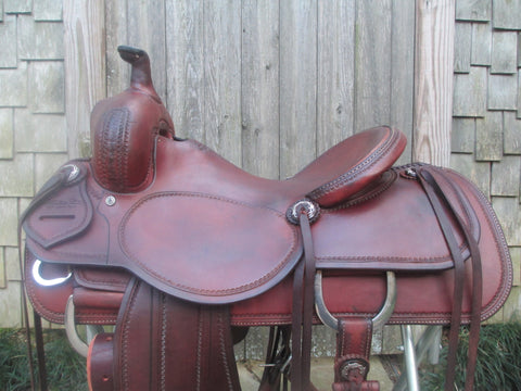 Sean Ryon Ranch Cutter Saddle