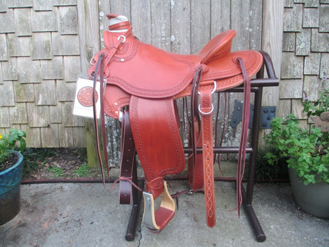 New McCall McLite Wade Roping Saddle