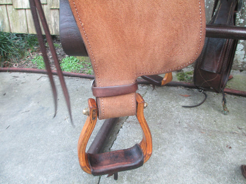 Oliver Ranch Saddle Roping Saddle