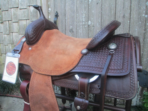Reinsman X Cutting Saddle